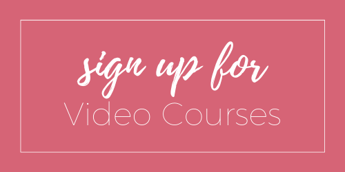 Sign up for our Video Courses